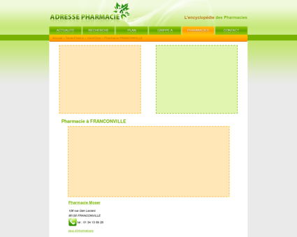 Comparateur de services de para-pharmacie Officines de